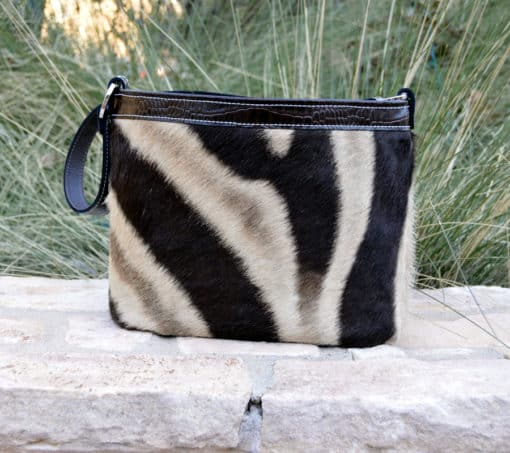 real zebra concealed carry purse