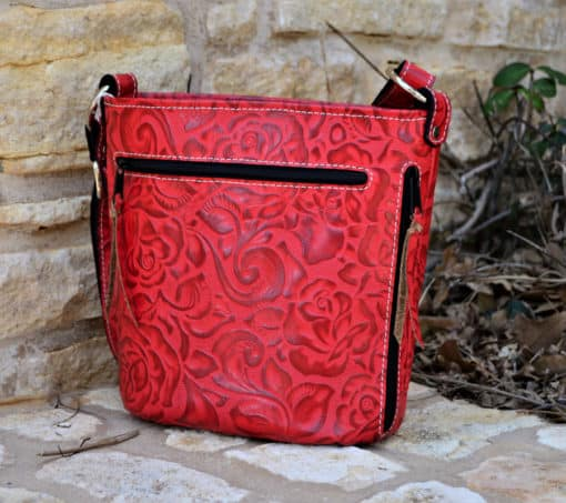Red Rose Concealed Carry Purse