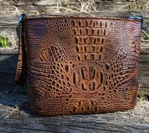 Butternut Croc Petite Concealed Carry Purse