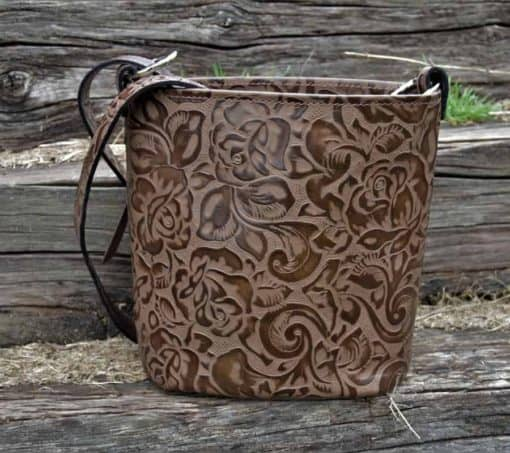 Chocolate Rose Concealed Carry Bucket