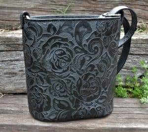 Black Rose Concealed Carry Bucket