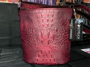 Merlo Red Concealed Carry Purse Bucket