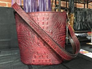 Merlot Red Concealed Carry Purse Bucket