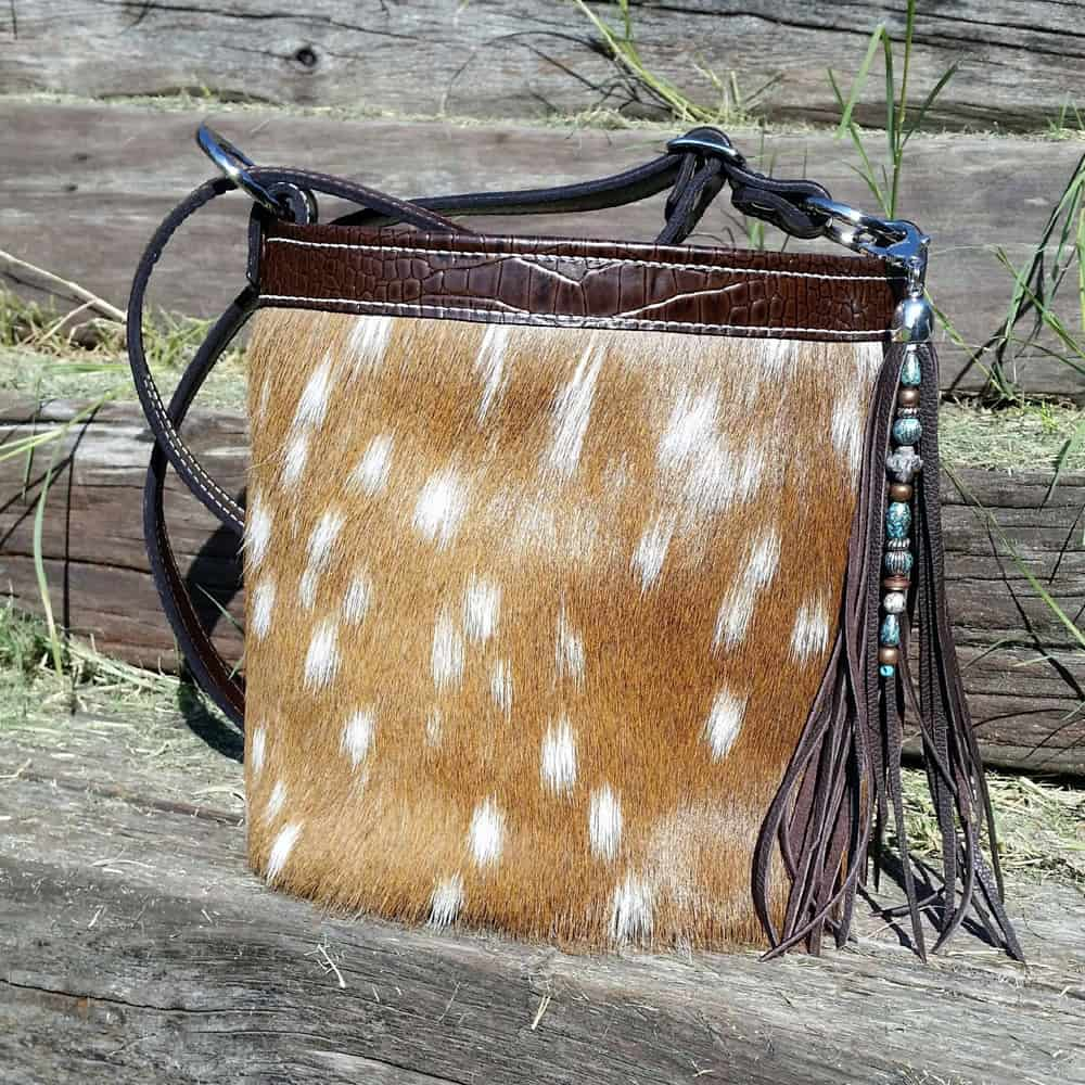 Axis Deer Concealed Carry Purse in Bucket