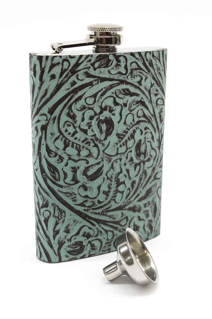 western-turquoise-flask