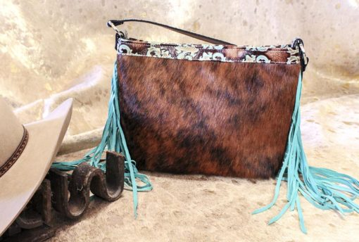 Brindle Cowhide and Talevera Classic