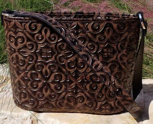 celine copper sienna concealed carry purse